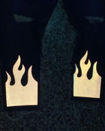 Immagine di Jeans flame custom